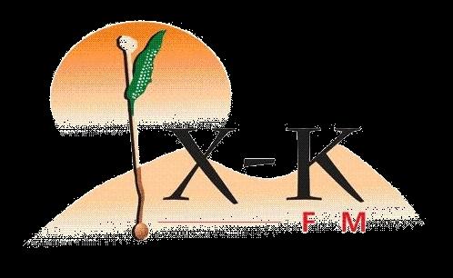 XK FM logo